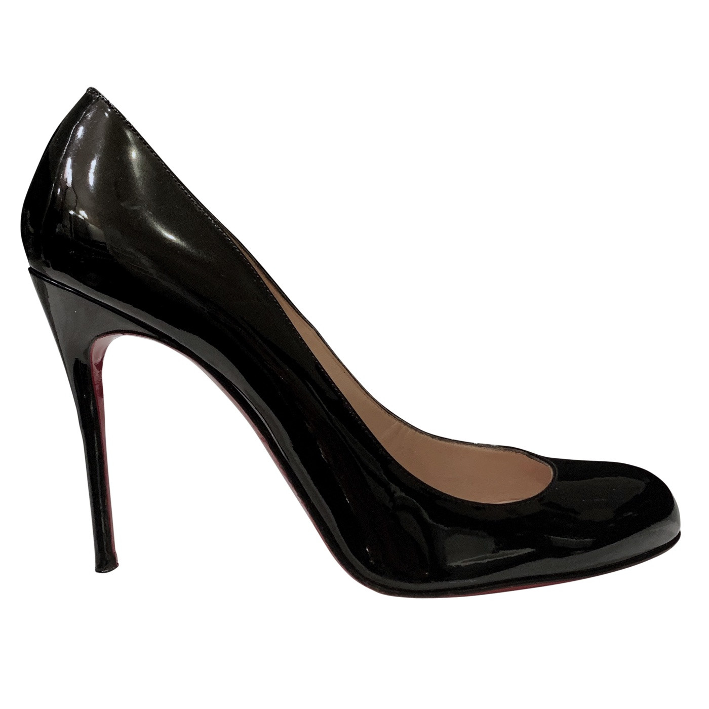 buy popular 7d01e b73a3 Chadi Luxury | Christian Louboutin Pigalle 100 Patent Leather Stilettos